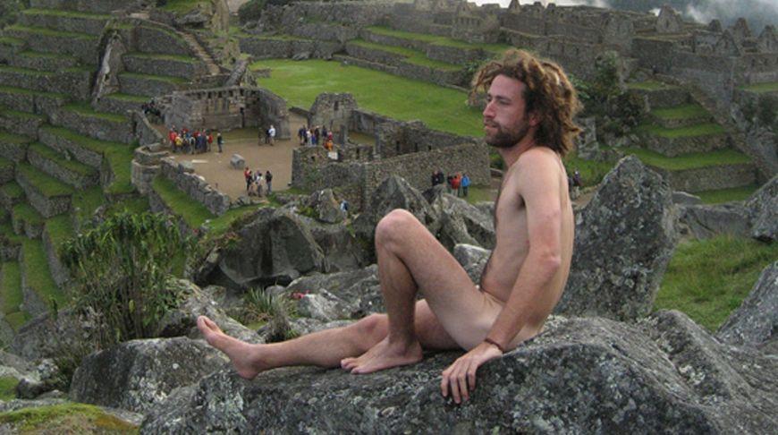 Naked tourist stories