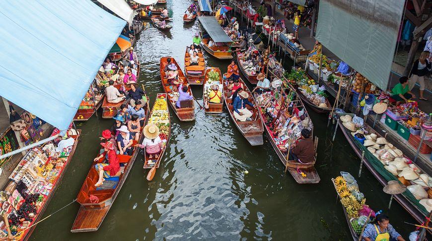 рынки таиланда