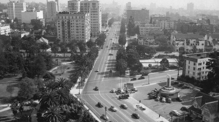 Ретро Лос-Анджелес, снимки, фото. Старый Лос-Анджелес