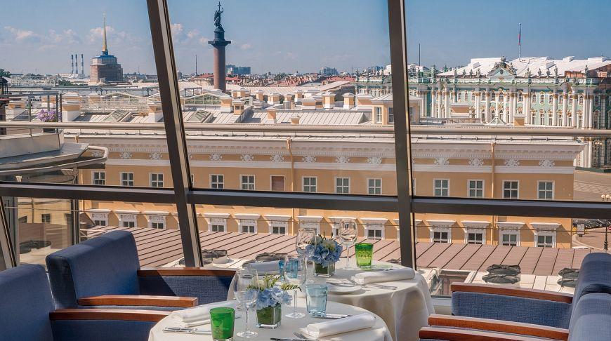 рестораны санкт петербурга с панорамным видом