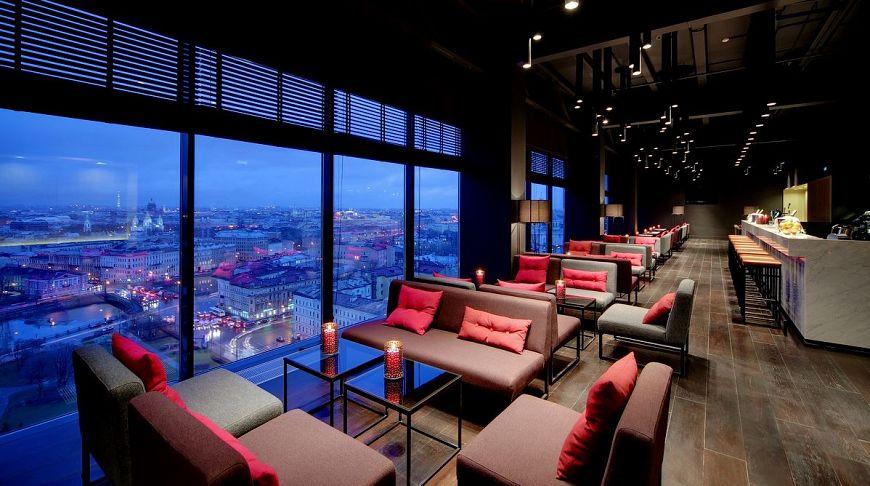лучшие панорамные рестораны санкт петербурга