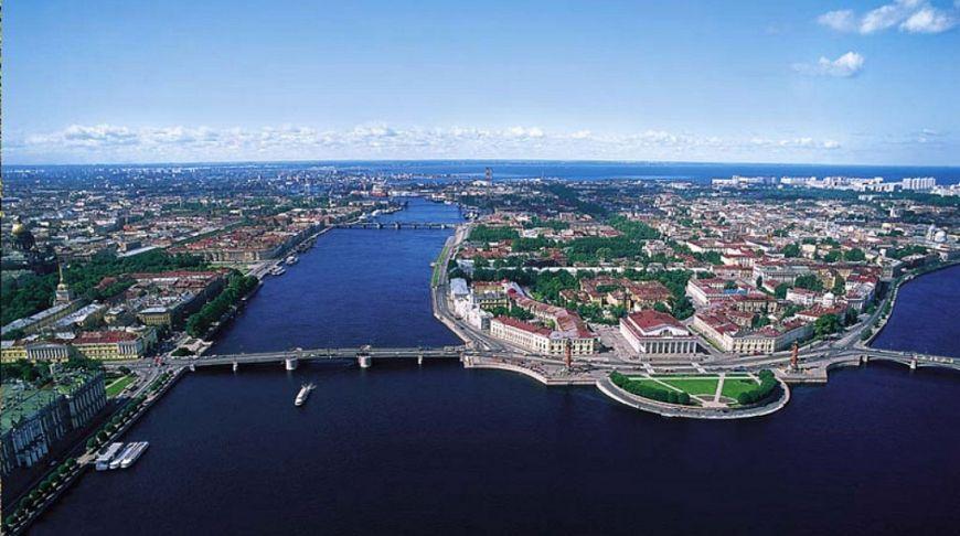 санкт петербург районы