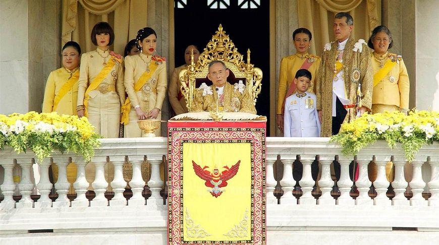 тайланд конституционная монархия