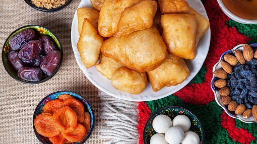 Национальная кухня, блюда, еда Казахстана.