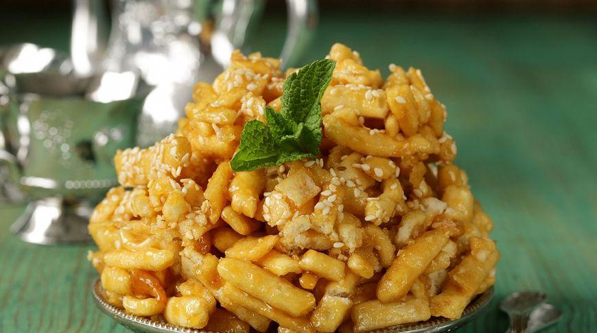 Национальная еда Казахстана.