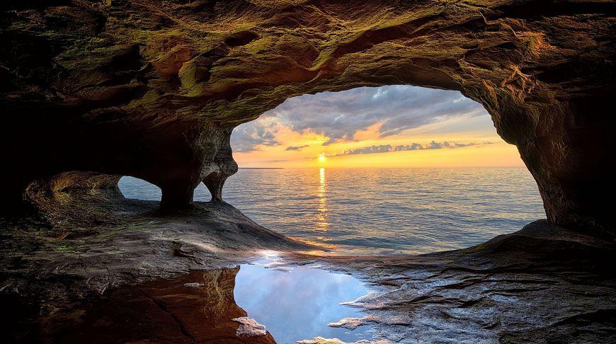 Пещеры северной Америки, США, фото