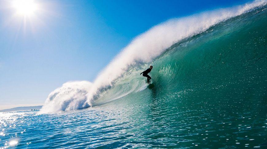 серфинг в лос анджелесе