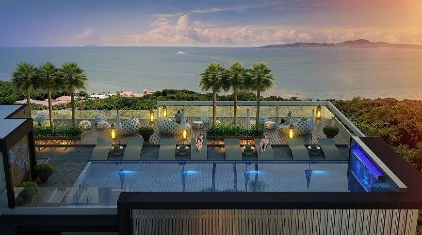 бассейн в квартире Siam Oriental