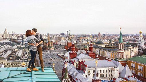 Жизнь в центре Москвы