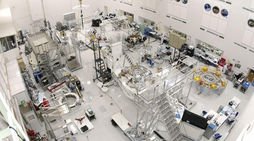 Взрыв аккумулятора в Лаборатории реактивного движения NASA