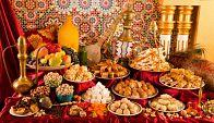 Казахский дастархан