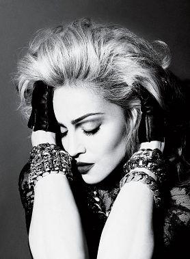 Мадонна в Америке