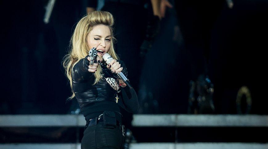 Мадонна в Лос-Анджелесе