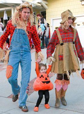 семейные образы на Хеллоуин