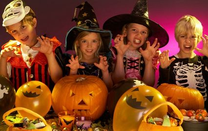 party for children on Helloween