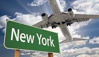 Самолет из Лос-Анджелеса в Нью-Йорк