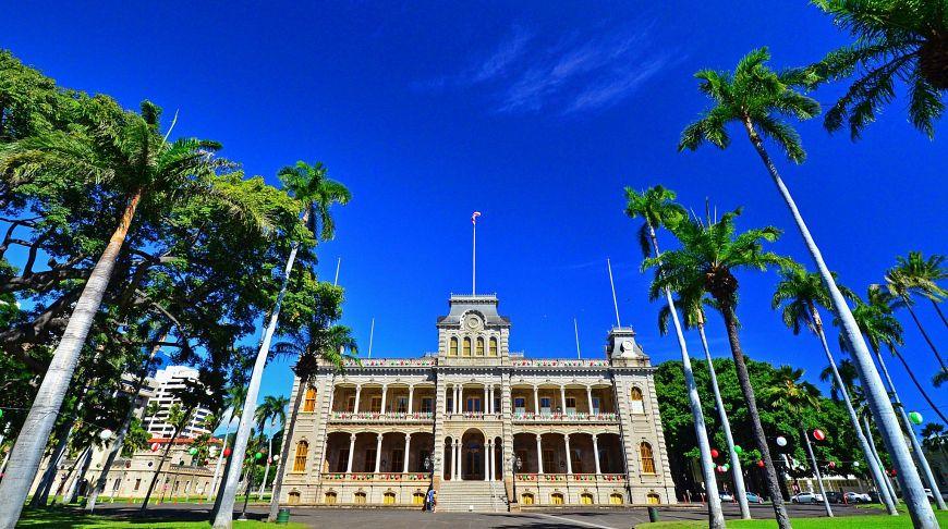 Дворец Иолани, Гавайи