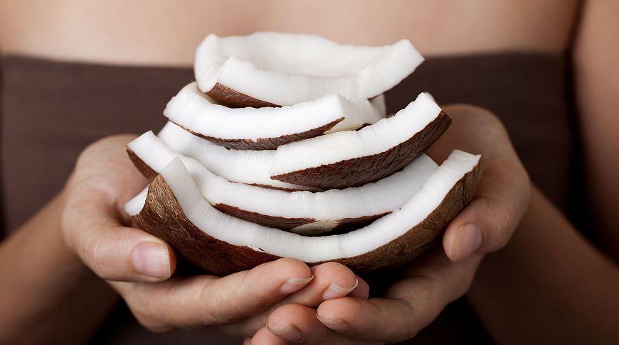 Масло из мякоти кокоса