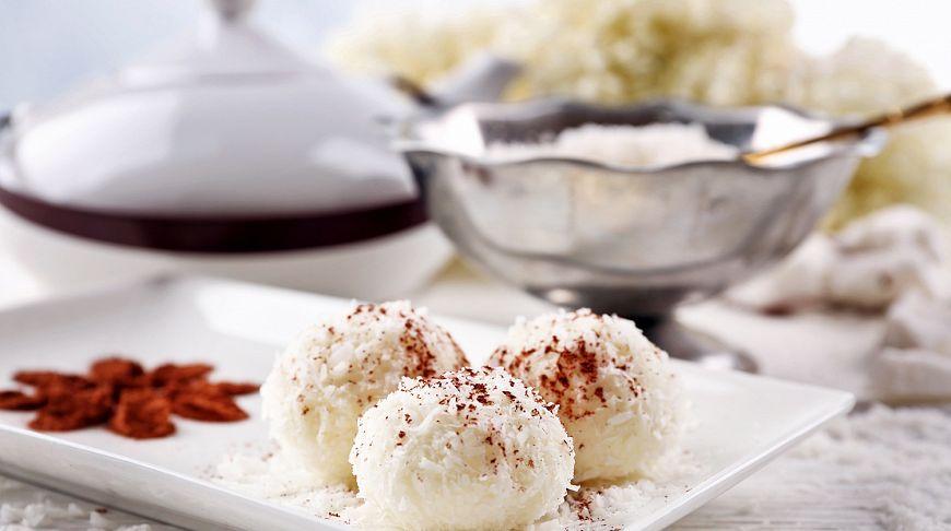 десерт с кокосом