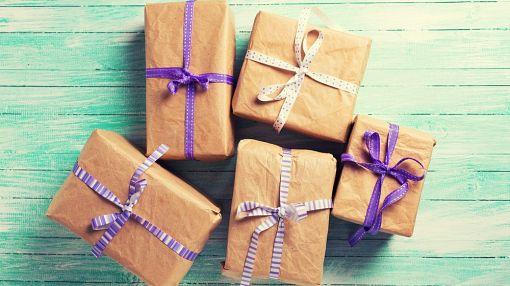 коробочки с подарками