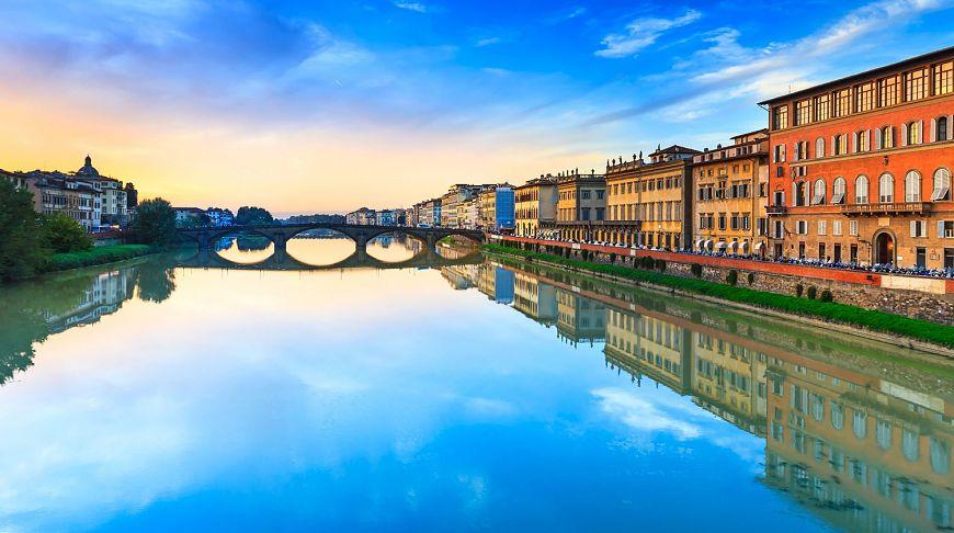 река Арно, Флоренция
