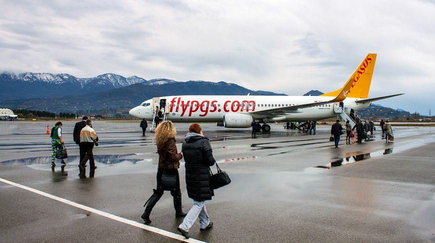 самолет Pegasus с людьми