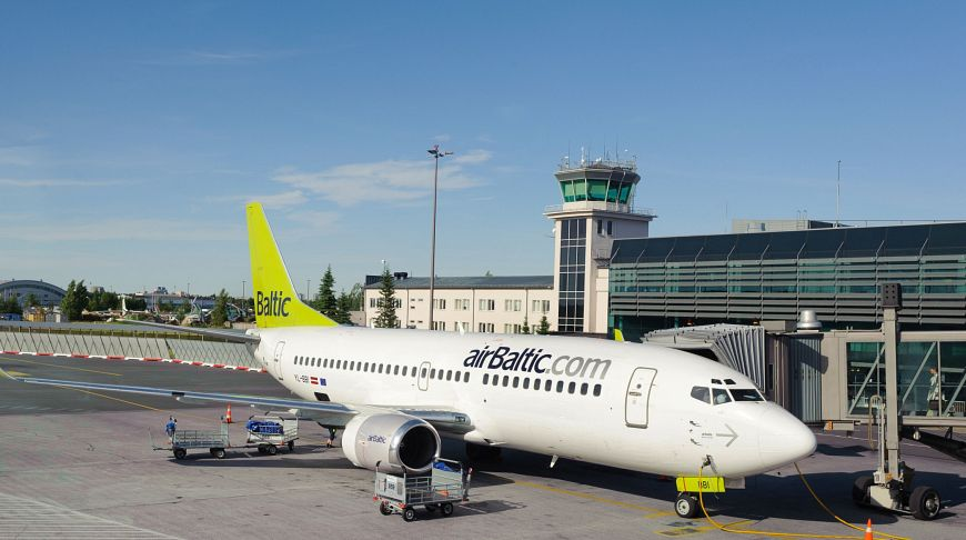 AirBaltic в аэропорту