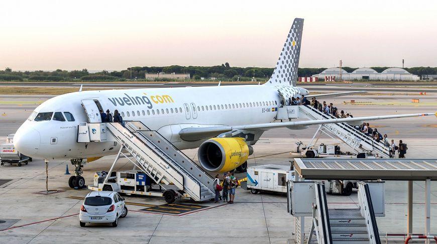 Vueling встречает своих пассажиров
