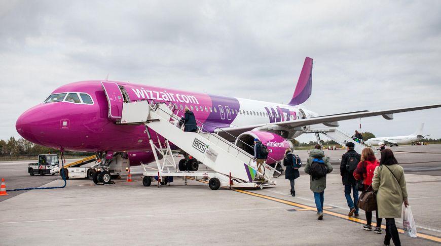 трап самолета Wizz Air
