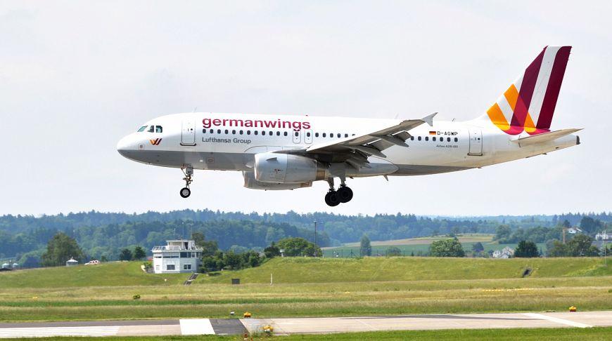 Germanwings взлет самолета