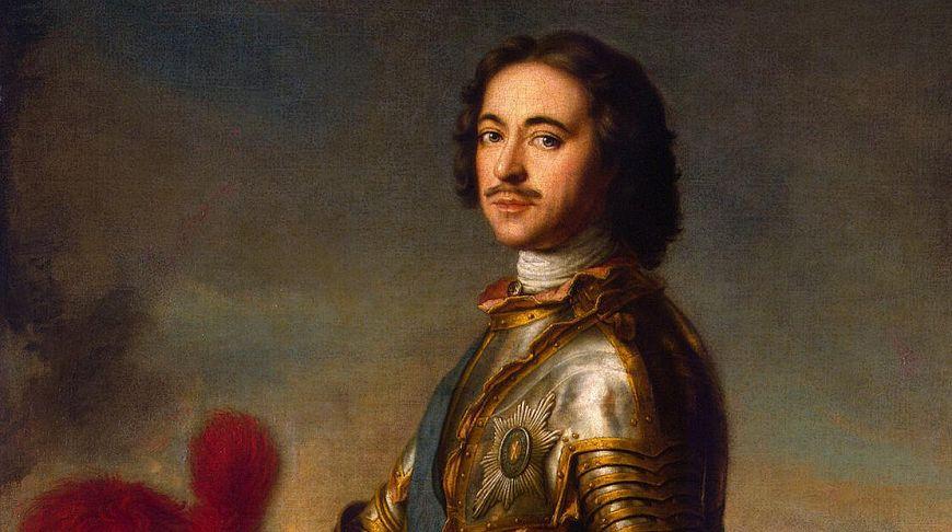портрет Петра Великого