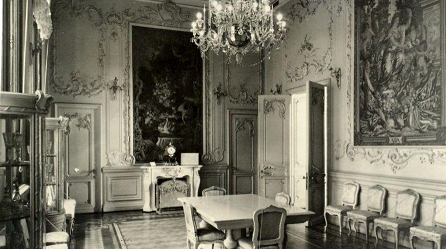 Белая столовая в Зимнем дворце
