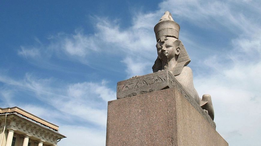 сфинкс в Санкт-Петербурге