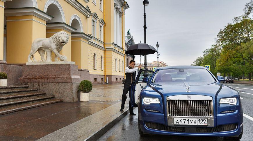лакшери авто в Петербурге