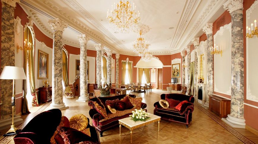 роскошный номер отеля