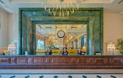 холл отеля Rixos President Hotel Astana