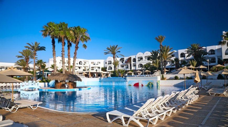 шикарный отель в Тунисе