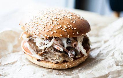 американский бутерброд с кунжутом