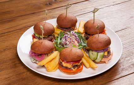 набор из минибургеров