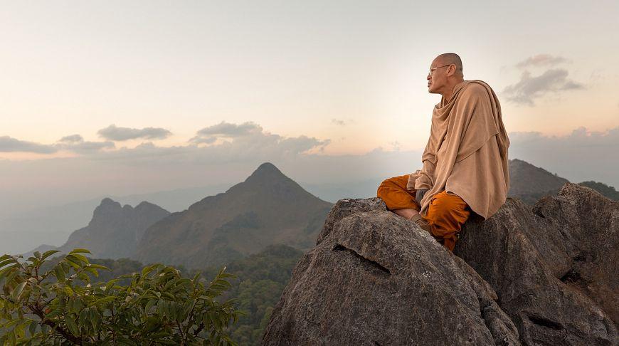 монах Тайланд