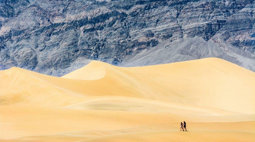 Прогулка по Долине Смерти, Калифорния, США