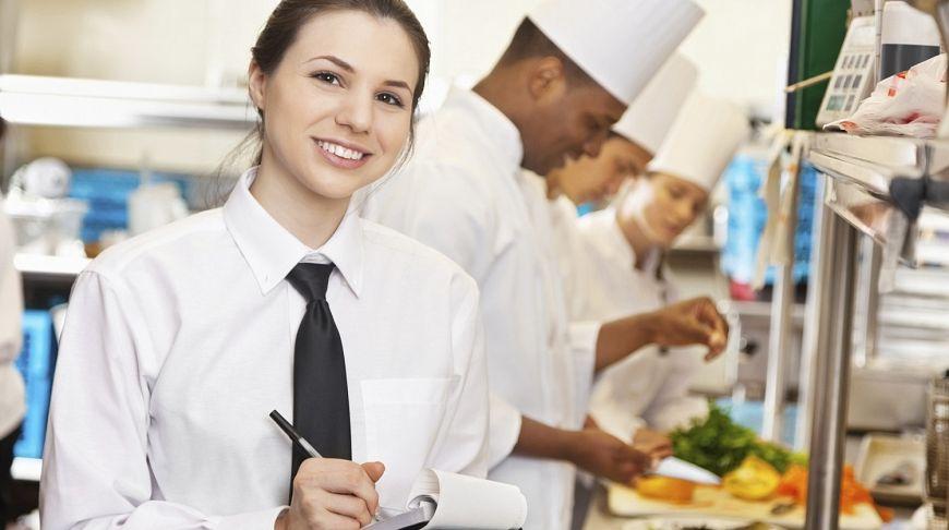 официантка и повара