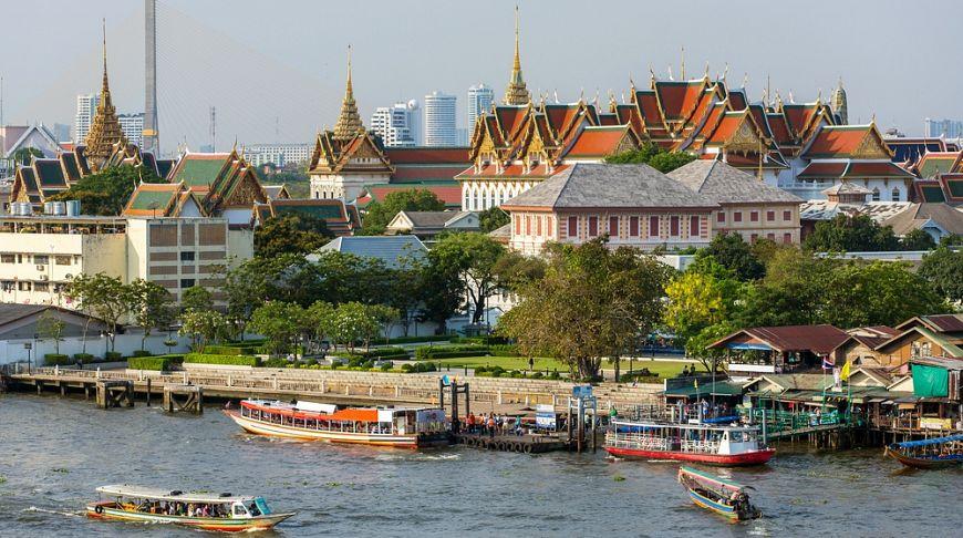 Тайский город