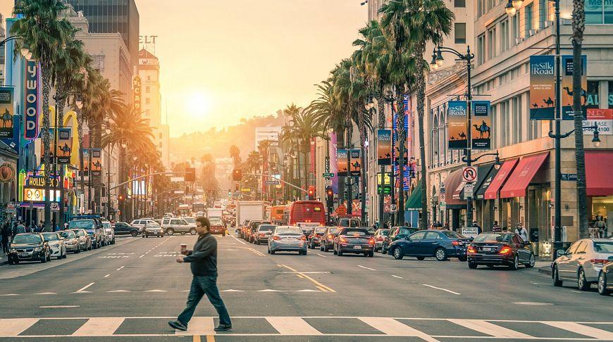 Лос-анджелесские тротуары