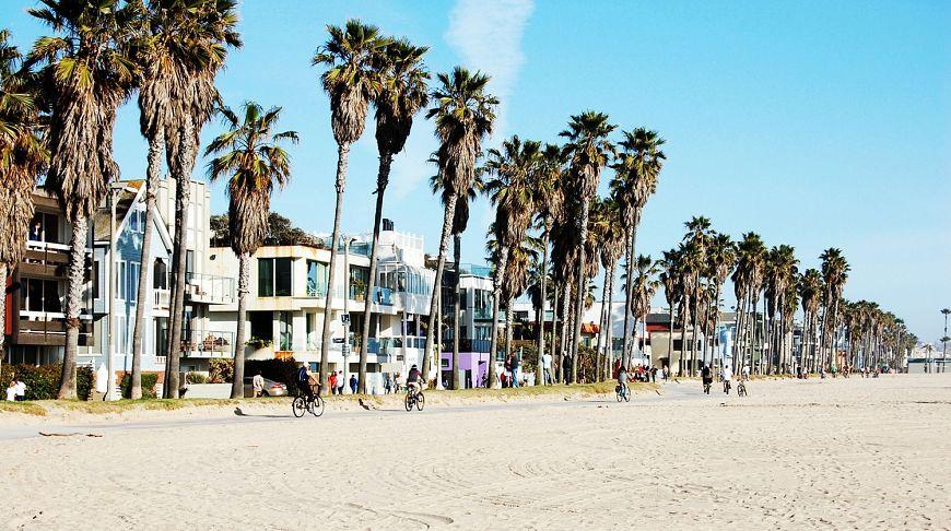 пляж ЛА