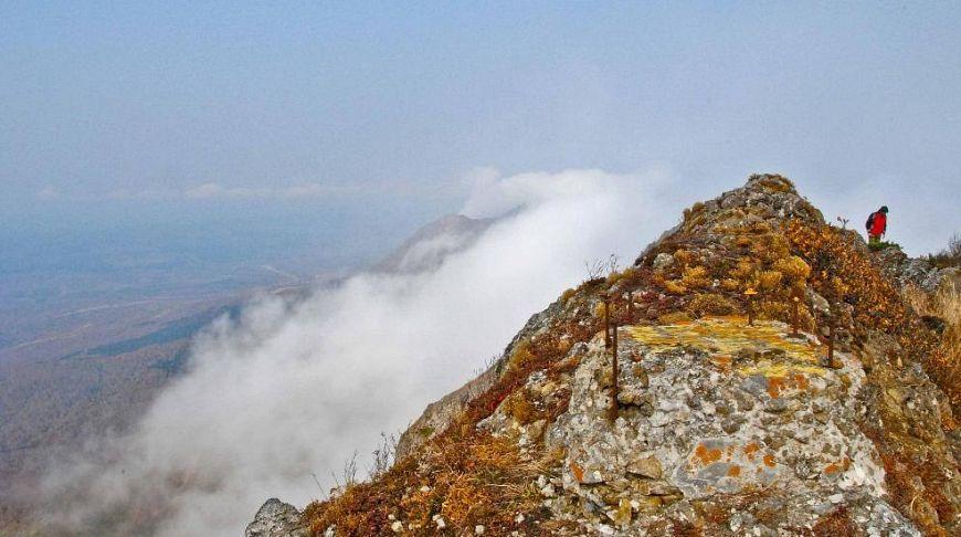 покоритель вершины на Сахалине