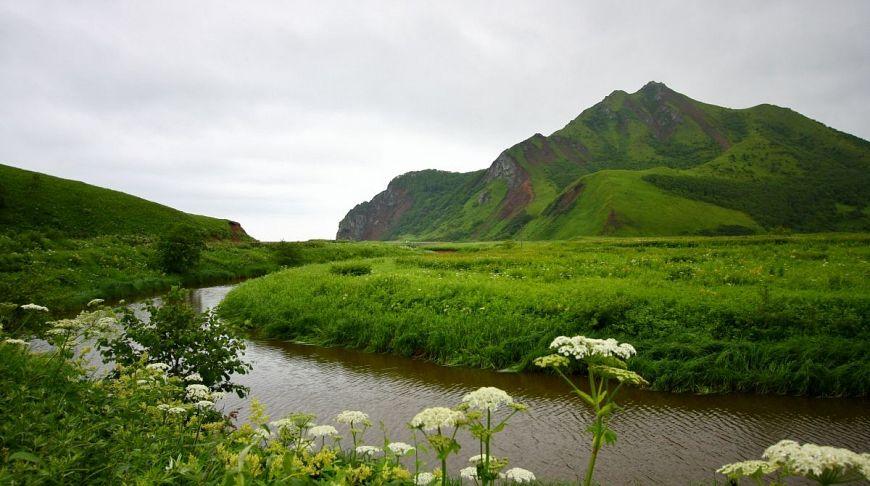 река на острове Сахалин