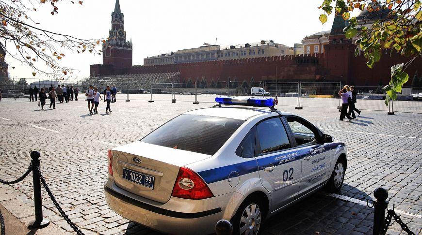 полиция на Красной площади