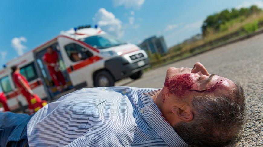 раненый в ходе ДТП