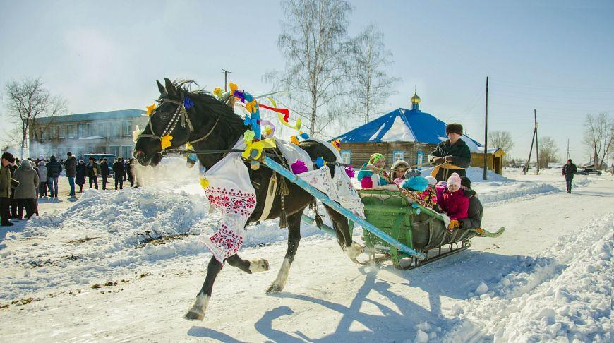 российская зима